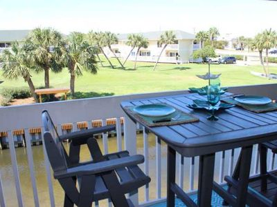 Photo for Relax in this canal-front 2br at Sandpiper Cove Resort.