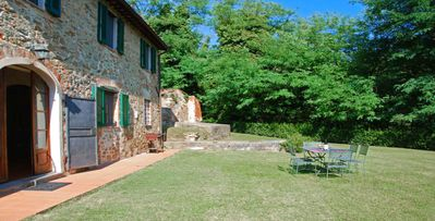 Photo for Magrini- 3 bd stone farmhouse villa with wine celler and pool in Lucca