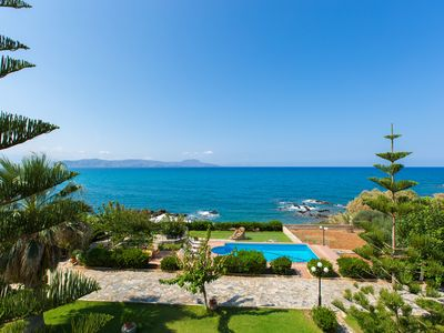 Photo for ★Private Beach★Large Villa Katerina w/ Private Pool, also ideal for Weddings!