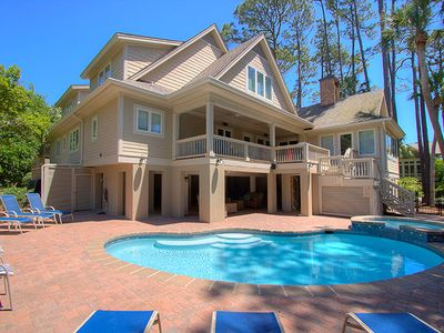 26 Surf Scoter - 2nd Row Luxury Home in Sea Pines w/ Private Pool & Spa