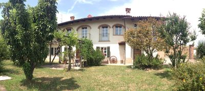 Photo for Al Muntisel,arestructured farm house in the Roero countryside.
