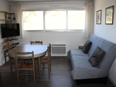 Photo for Apartment in La Mongie with direct access to the slopes - 3 room apartment 6 people