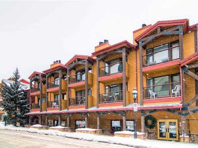 Photo for Beautifully updated condo in the heart of Breckenridge, hiking trails close by