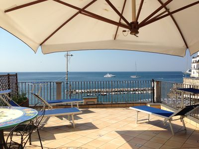 Photo for House for families with terrace and sea view, only 1km from the center of Amalfi