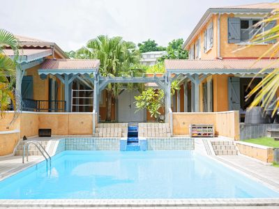 Photo for BEAUTIFUL VILLA WITH SWIMMING POOL FOR 12 PEOPLE IN GOSIER