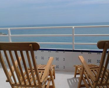 Photo for L&Z 6-person Penthouse by the sea and beach with beautiful views.
