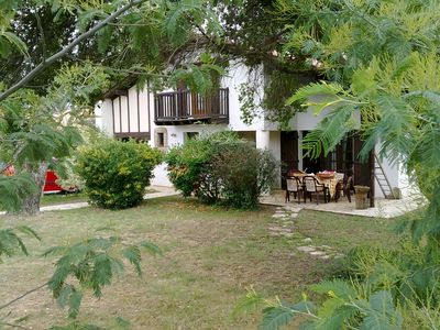 Photo for Beautiful house 200m from the beach and forest, 1000m2 private garden, 3 bedrooms