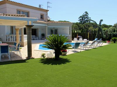 Photo for A Catalan 4 bedroom villa, all on suite bathrooms, large private garden, WiFi