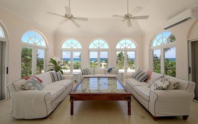 Photo for Stunning Beach Front Home on Private Windermere Island.