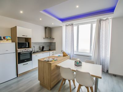 Photo for T2 4 person 2 min from the city center and the Saône de Macon and Saône docks