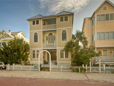 Photo for Multi Story home in seaside development with community pool and direct beach access.