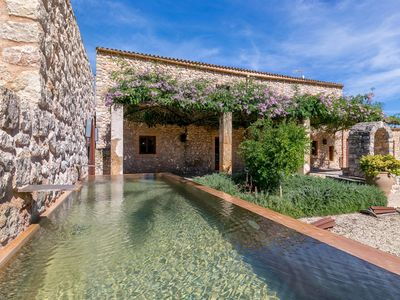 Photo for Characteristic Finca with overflow pool and ballroom for events