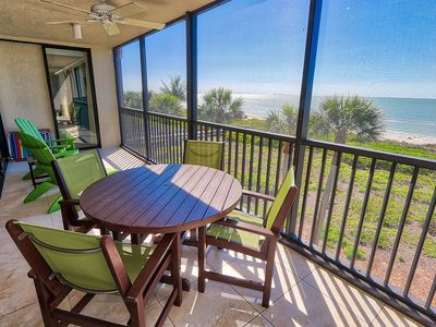 Photo for Gulf Front, Top Floor, Two Bedroom Condo with Den - Sundial L405