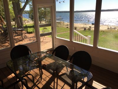 Photo for Interlochen family-friendly Lakefront Retreat