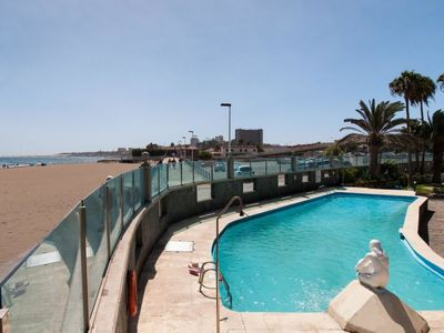 Photo for Apartment Beachfront Apartment Aquarius DB09  in Maspalomas, Gran Canaria - 5 persons, 2 bedrooms