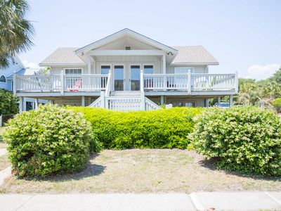 Photo for Excellent Ocean Views! Family Beach Home located just across the street from beach access!!