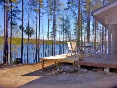 Photo for Vacation home Hot pool cottage ainu in Enonkoski - 6 persons, 2 bedrooms