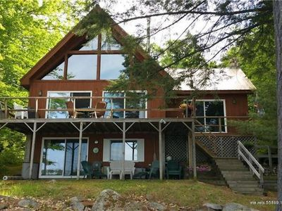 Photo for Spacious Lakefront House on Long Lake