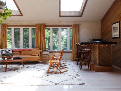 Photo for Mid-Century Inspired Catskill Chalet