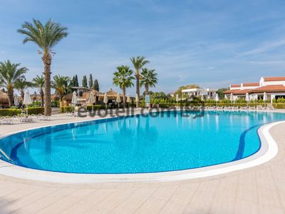 Photo for Didim Beach Resort Spa Luxury Apartments. Comfort Resort 2 bedroom holiday apartments in the sea 0 site. The apartments are suitable for families and groups, daily, weekly, can be rented on a monthly basis.