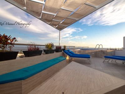 Photo for Penthouse Condo Ocean Front Private Terrace Pool