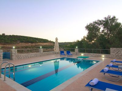 Photo for Tranquil location, close to the beach, totally private pool and garden!