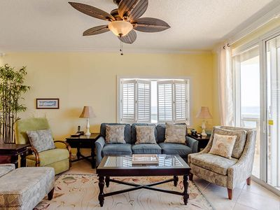 Photo for Gorgeous Gulf Front, Three Bedroom Condo at The Enclave ~ Free WiFi