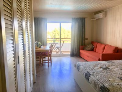Photo for Studio in Puerto de Alcudia with air conditioning and wifi