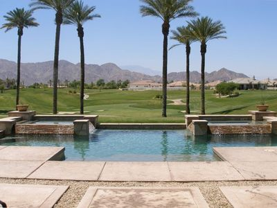 Photo for 5 Star Luxury, Immaculate, Private Pool, Views, on Golf Course