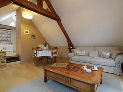 Photo for Atypical 3 *** apartment with terrace in a 14th century building