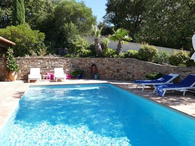 Photo for VILLA 8 PEOPLE WITH SWIMMING POOL VIEW HILLS