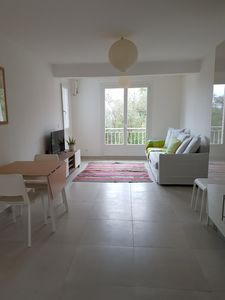 Photo for 50 m2 apartment with terrace on the ground floor of a villa
