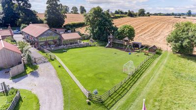 Photo for Family friendly Barn set in private 20 acres with Play Area