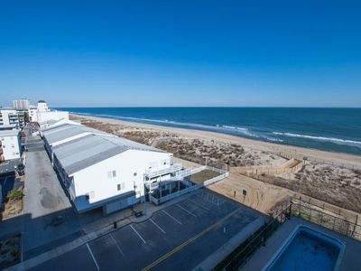 Photo for Beautiful Ocean View! Oceanfront w/ Pool, Wi-Fi & Free Linens - Near Boardwalk!