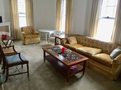 Photo for Cozy comfortable and convenient apartment minutes away from Warren street.