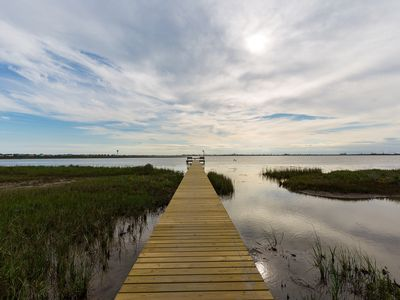 Photo for Fish From Your Own Private Dock, Tranquil Bay Views and Perfect Sunsets