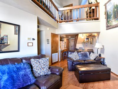 Photo for Family Friendly Lodge-Like Sleeps 8 + 2 Master Suites & Loft + Covered Parking
