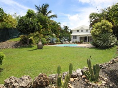 Photo for BEAUTIFUL VILLA CREOLE OF STANDING WITH SWIMMING POOL AND JACUZZI PRIVATE