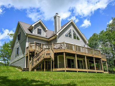Photo for Dog Friendly, Lake Access Chalet with 4 Master Suites!
