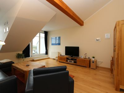 """Photo for Apartments Herrmann, Whg. 13 + 14 in the attic, Residence Bellevue - """"Residenz-Bellevue"""" Comfort apartments"""