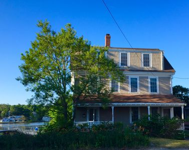 Photo for That Old House?!? Historic Beach House on Pond Across from Crescent Beach