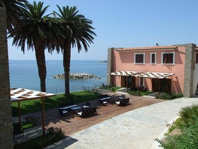 Photo for Appartamento Torre Caleo L: A charming apartment located right on the beach.