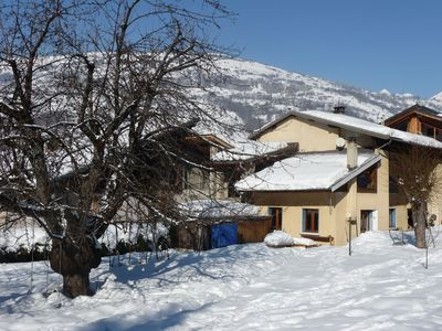 Photo for Nice village house in the heart of Paradiski