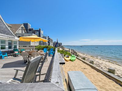 Photo for #105: Beachfront on Commercial St w/ Sweeping Views of the Harbor! Dog Friendly!