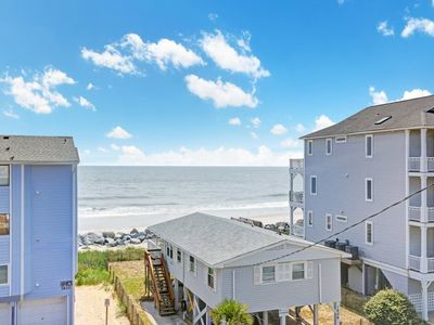 Photo for Beautiful ocean views with easy beach access and 2 pools