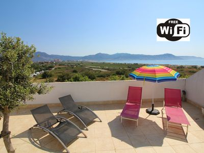 Photo for Apart-Rent-Apartment with terrace and seaview with Wifi (0148)