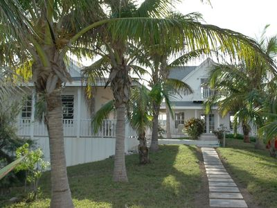 Photo for Private 2 Bedroom Beachfront Estate 100 Yards from a Deserted Pink Sand Beach