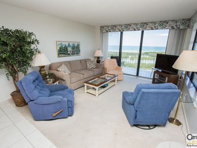 Photo for Lovely two-bedroom, two-bath, beachfront condo with unparalleled panoramic views.