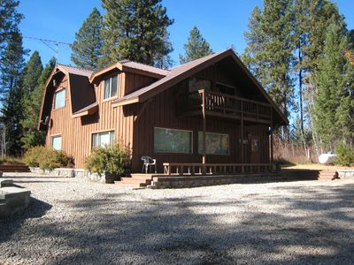 Photo for Large, secluded home w/ private hot tub - peace & quiet near town & lake!