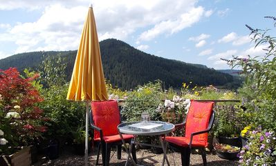 Photo for Great view, peace and relaxation right on the edge of the forest of Klosterreichenbach